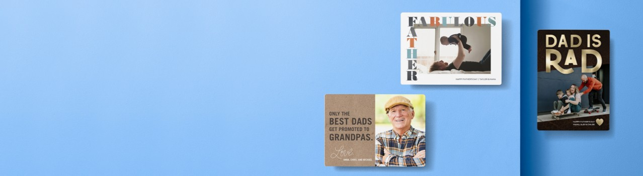 celebrate all dad. shop father day cards
