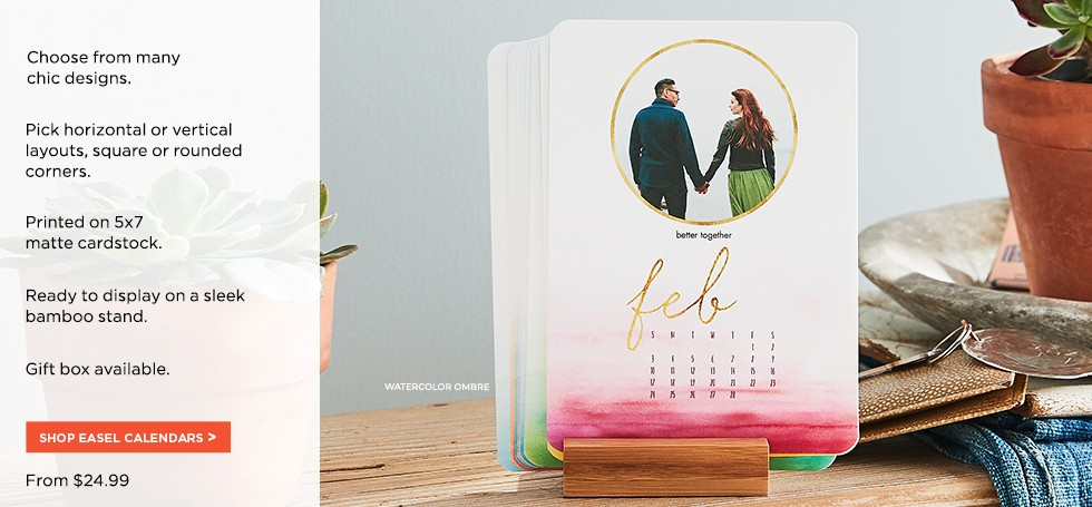 b5e46031889 easel calendars. Calendars for every space
