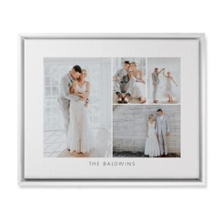 Canvas prints and wall art are great bridal shower gift ideas.