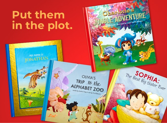 NEW Personalized Story Books