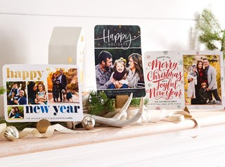 999 expedited shipping on new years holiday cards