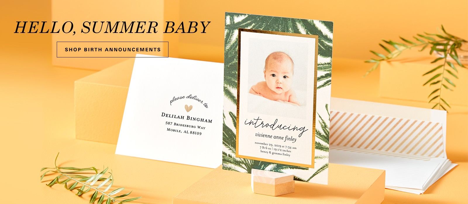 Unique Invitations, Announcements, Stylish Custom Cards & Stationery ...