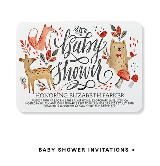 Unique Invitations, Announcements, Stylish Custom Cards