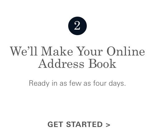 make your address book