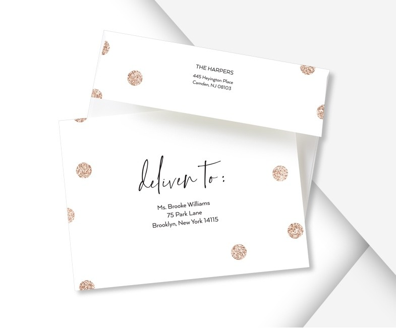Free Address Printing With Custom Envelopes