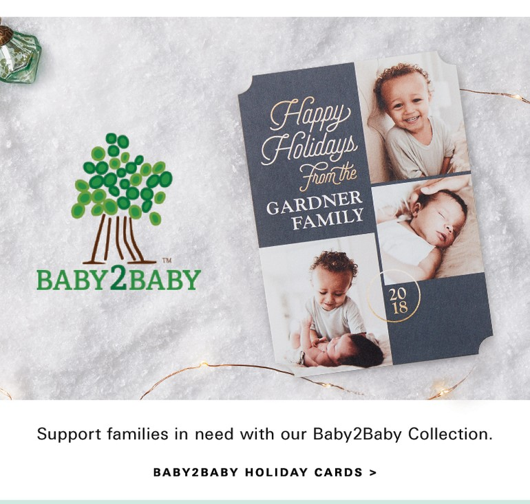 baby2baby holiday cards