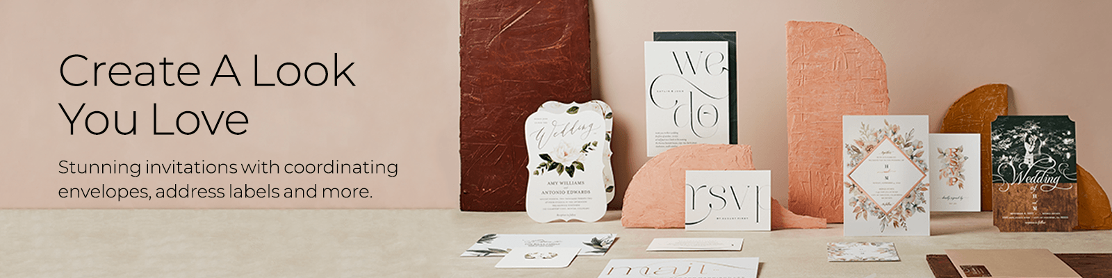 create a look you love, create stunning wedding suites