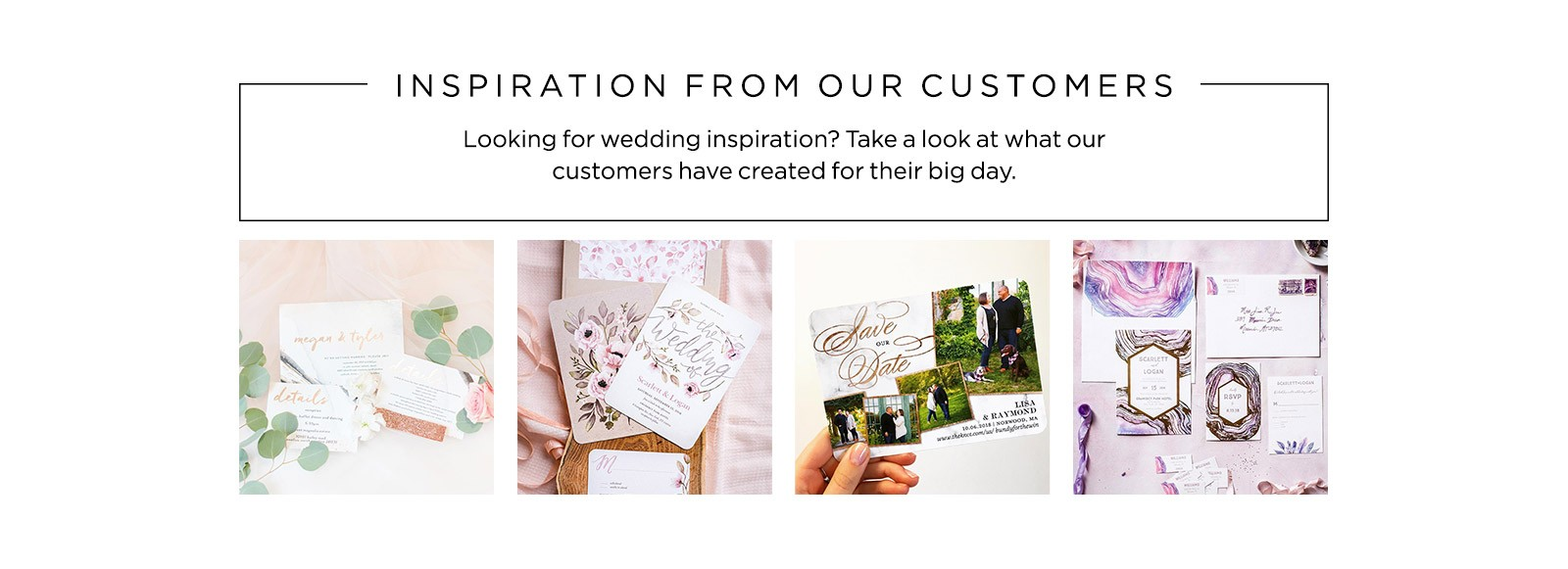 wedding inspiration from customers