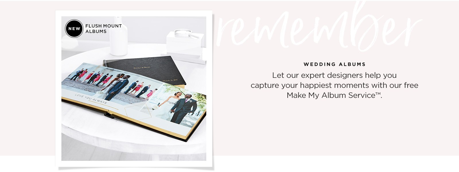 wedding albums and guestbooks