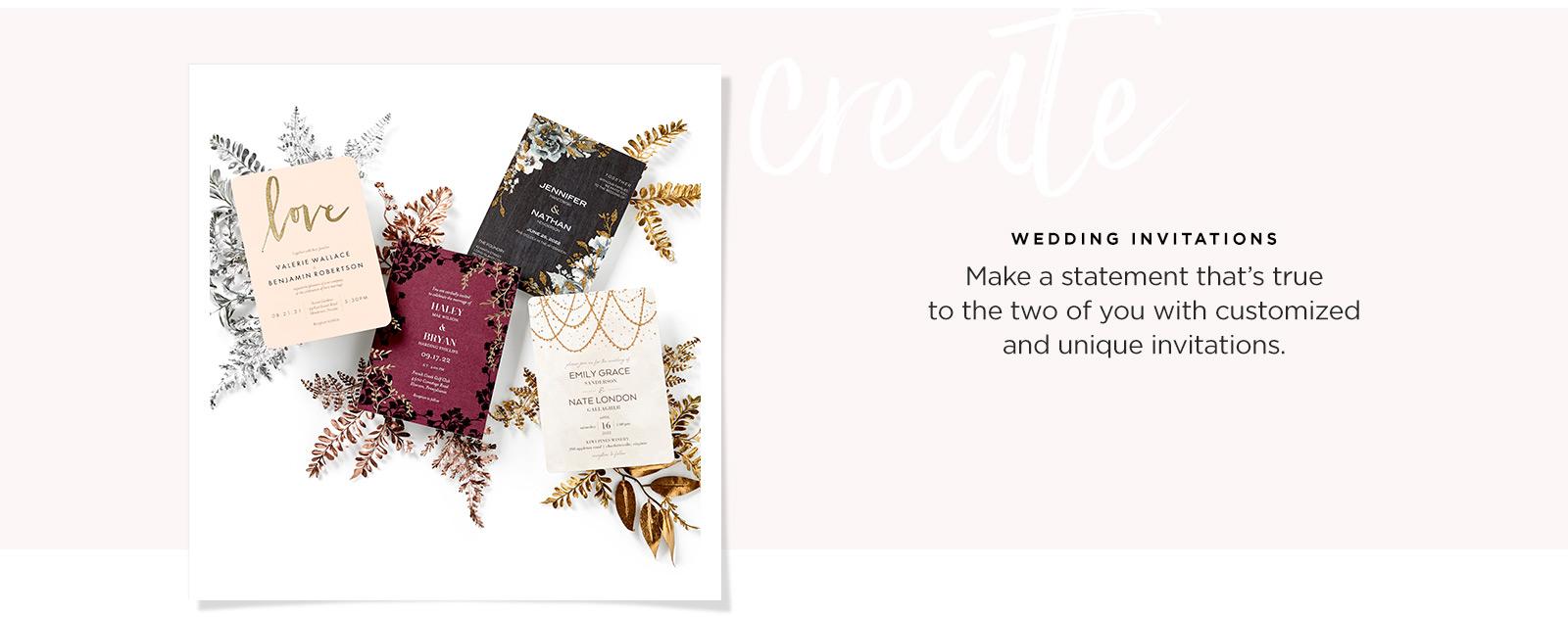 wedding invitations styles
