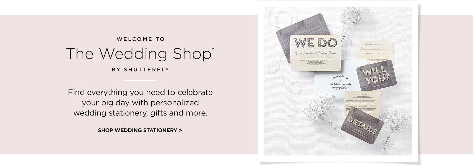 The Wedding Shop | Shutterfly