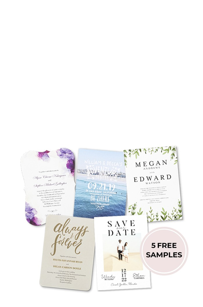 Free wedding invitation samples shutterfly start shopping stopboris Choice Image