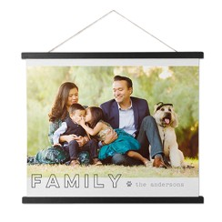 Simply Chic Family Hanging Canvas Print