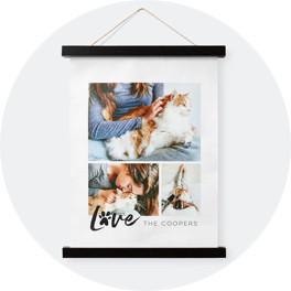 hanging canvas prints