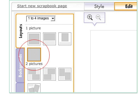 Select Full Bleed Layout from layout tab